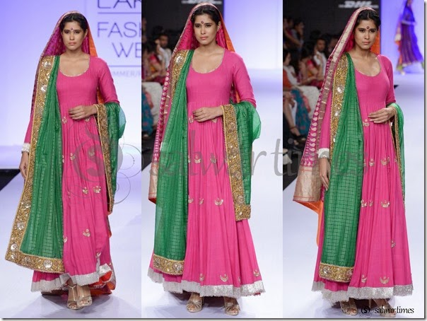 Gaurang_Shah_Pink_Long_Kameez