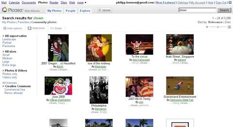 Google   se integra a Picasa Web Albums