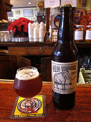 image of Big Time Old Wooly Barleywine 2010 courtesy of +Russ's Flickr page