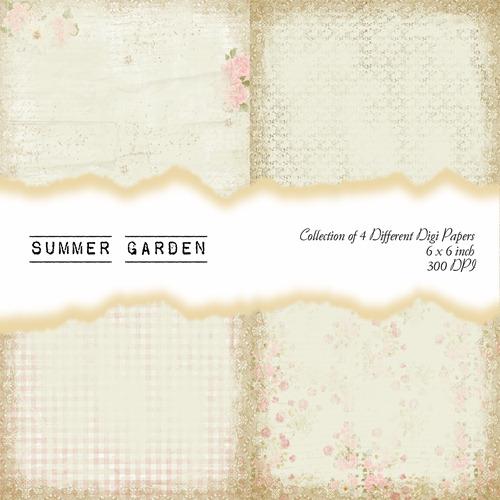 Summer Garden Front Sheet