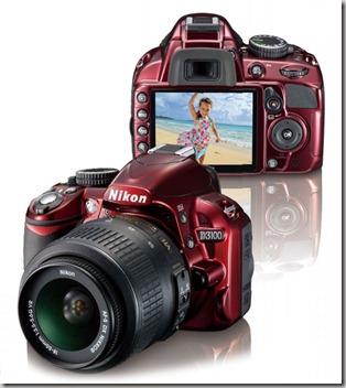 Red-Nikon-D3100