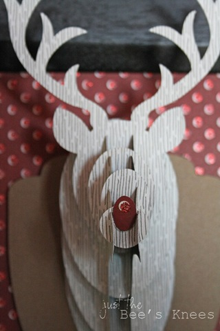 3D Rudolph from Just The Bee's Knees