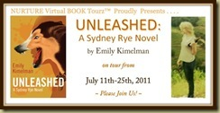 Emily Unleashed Nurture Book Tour Banner