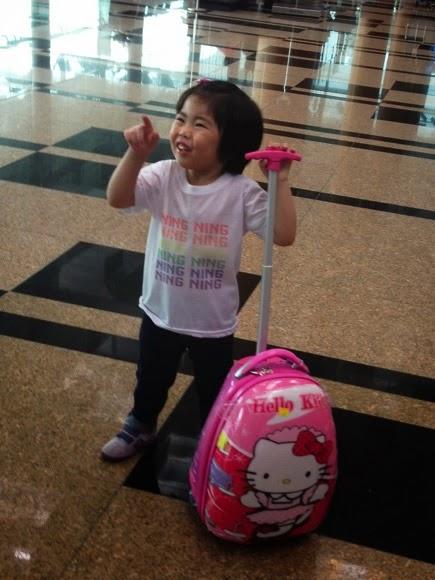 Yining At The Airport