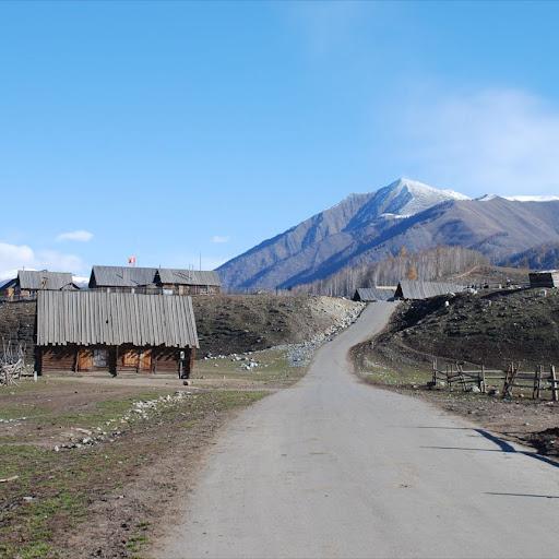 Xinjiang, Hemu - Village