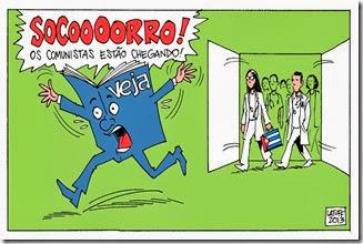médicos cubanos veja_Latuff