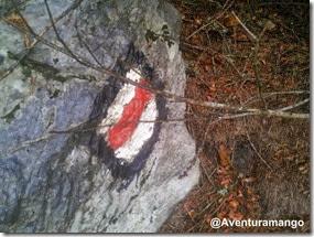 Simbologia de trilha de montanha