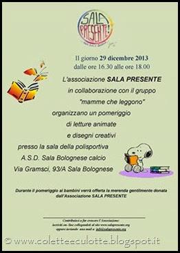 Mamme Che Leggono 2013 - 29 dicembre - Merenda con Sala Presente (0)