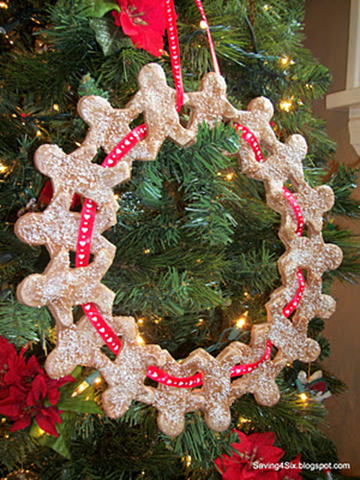 carrie - ginger wreath