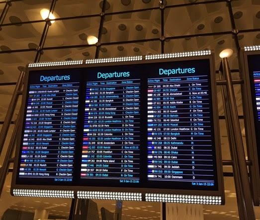 All Internation Departure Details