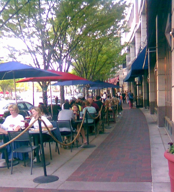 Bethesda - outdoor dining