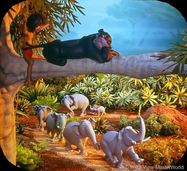 View-Master Jungle Book (B363): Scene 5