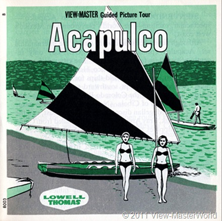 View-Master Acapulco (B003), Booklet Cover