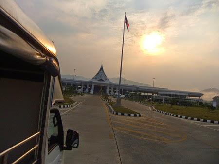 puesto fronterizo tailandés, Chiang Khong