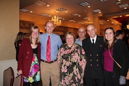 Mark Navy OCS Grad 1