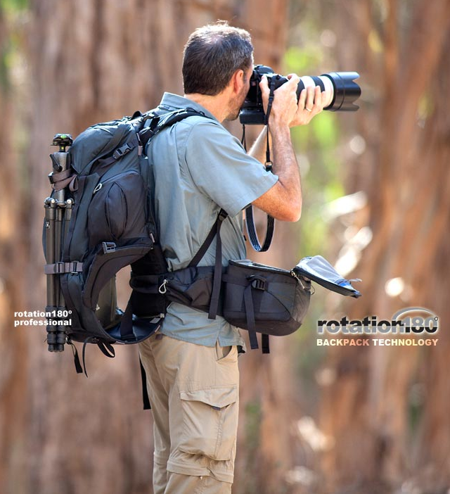 Mindshift Gear - Rotation 180 - The Coolest Photography Backpack Ever