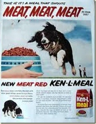 dog food ad