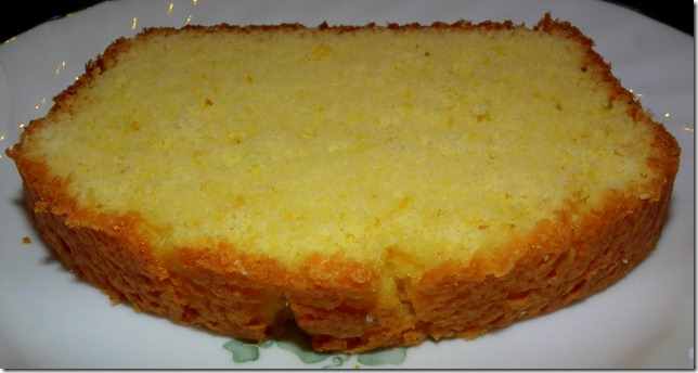 Lemon Loaf Cake Slice