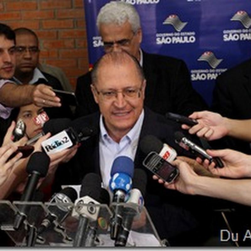 Governador Alckmin anuncia projeto para levar trem da CPTM até Alphaville
