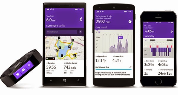 Microsoft Band is Cross Platform