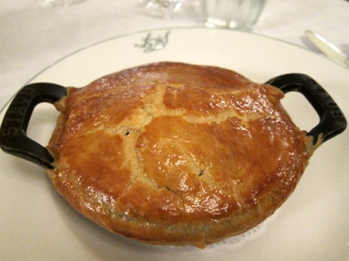 Herefordshire snail & bacon pie