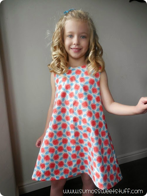 Norah Dress - Included in the #sewfabsale - Sewn by SumosSweetStuff.com #affiliate