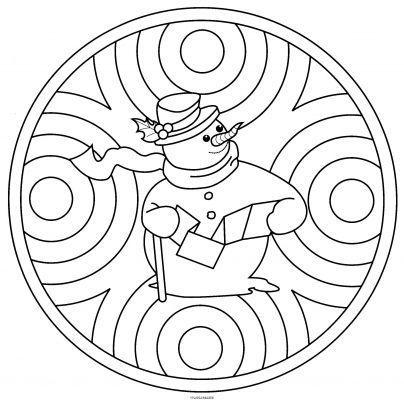 Mandala coloring pages printable