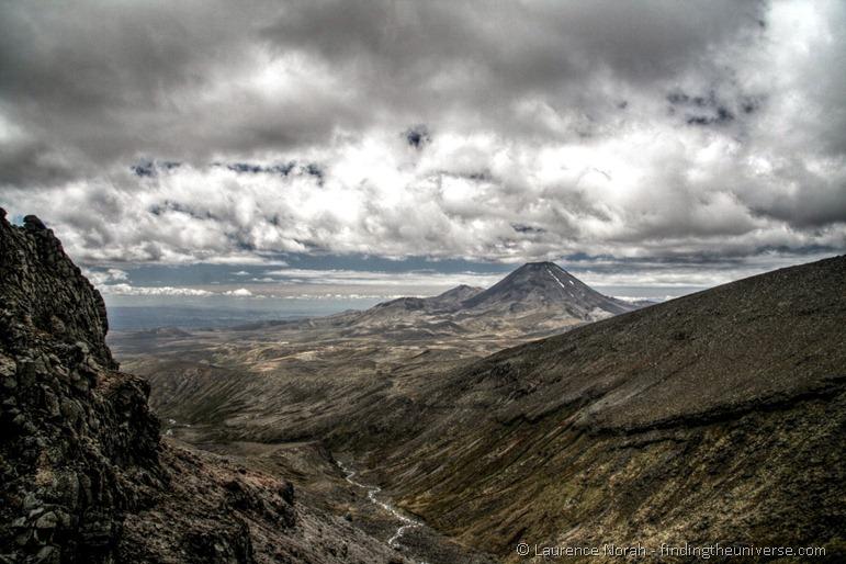 Blick auf Mount Ngauruhoe von Ruapehu