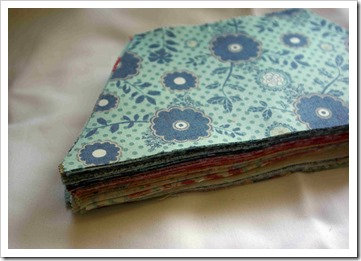 Hexi quilt stack