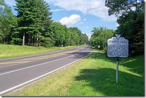 Kemper's Grave, marker F-17 along U.S. Route 15 in Orange County, VA