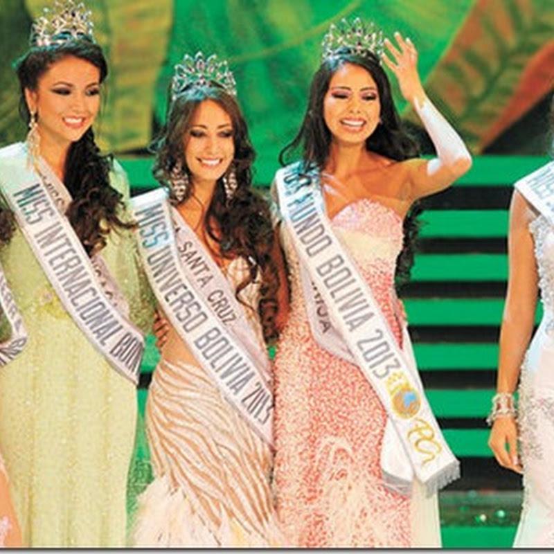 La cruceña Claudia Tavel es la Miss Bolivia Universo 2013