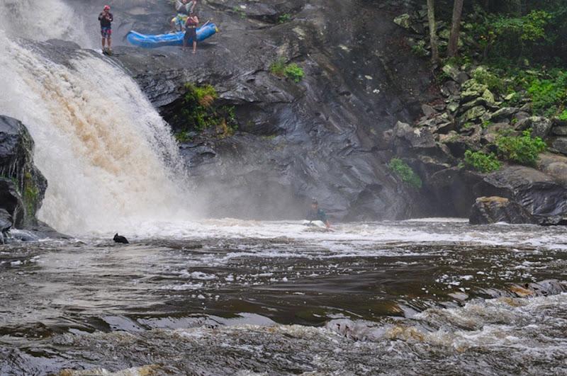 Kayak bald river falls
