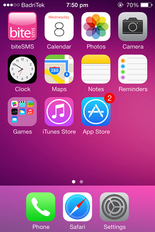 BiteSMS Message App For iOS 7 (5)
