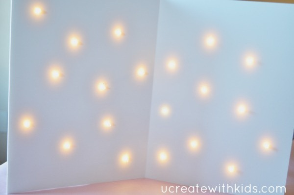 Lighted Backdrop Tutorial 6