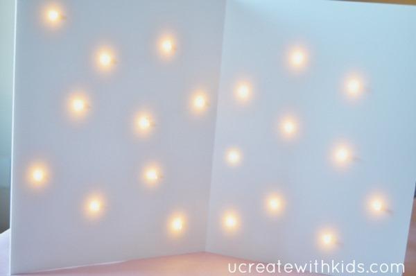 Lighted Backdrop Tutorial 6