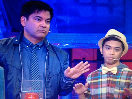 Martin Nievera and Kedebon Colim in Kapamilya Deal Or No Deal