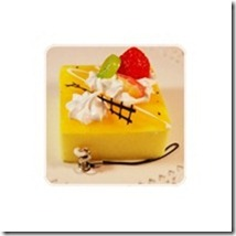 kawaii-yellow-fruit-cake-cell-phone-charm