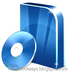 Software Box with CD Vista Blue