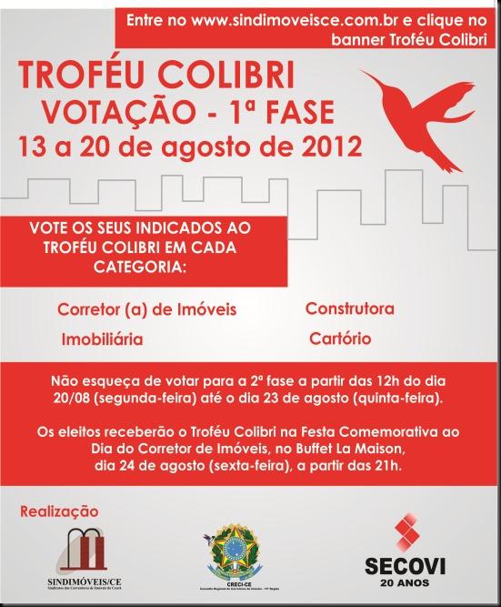 trofeu colibri