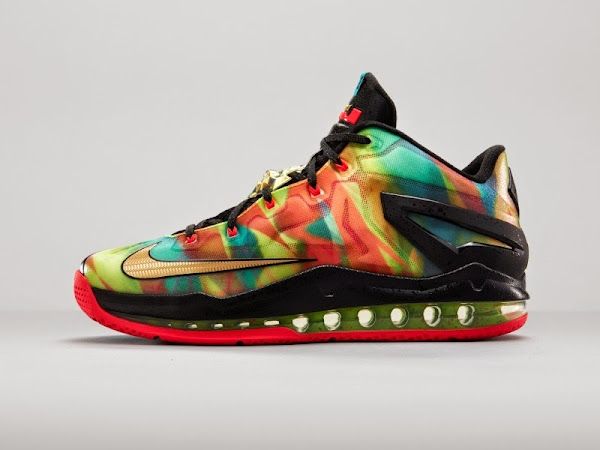 Nike LeBron 11 Low SE 8220Multicolor8221 Foot Locker Release Info