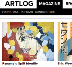 artlog magazine contemporary