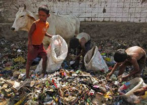 rag-pickers-kids-in india
