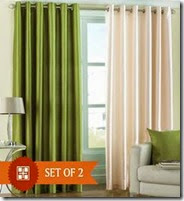 Pepperfry offer: PIndia Door Curtains (Set of 2) at Rs. 499 only