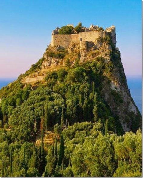 (Angelokastro), Corfu Island