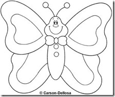 colorear mariposas pintaryjugar com (16)