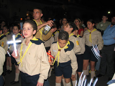 Imagini Damasc: Syrian scouts