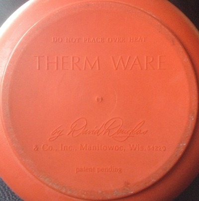 David Douglas Therm Ware carafe, orange
