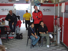 GPC Team Garage with John Newman Ferrari GM Hong Kong