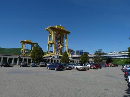 Hidrocentrala Romania: Portile de Fier la Dunare, Mehedinti