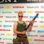 guile with a shotgun at Fanexpo 2014 in Toronto, Ontario, Canada